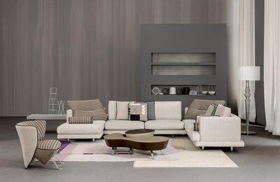 Mercury Line Sofa