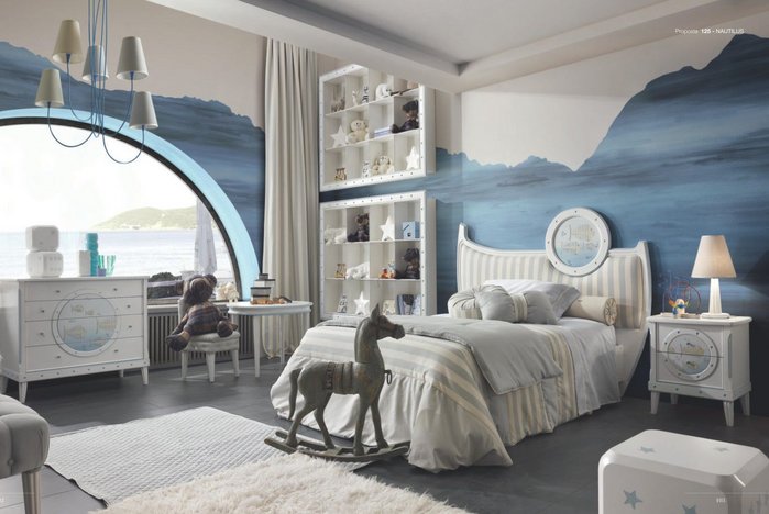 Детская кровать Nautilus