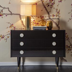 Chest of drawers and bedside table STILBO