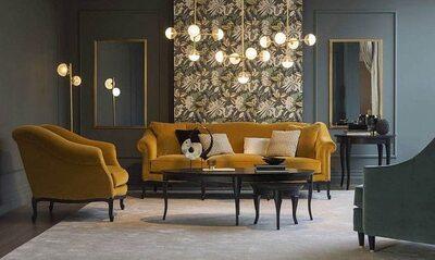 Pigrone sofa and armchair