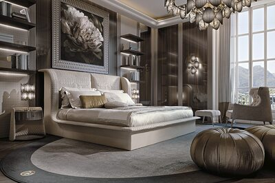 APPIANI HIGH Bed