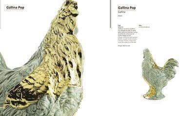 """Statuette """" Gallina Pop"""""""