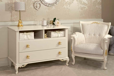 Chest of drawers-changing table